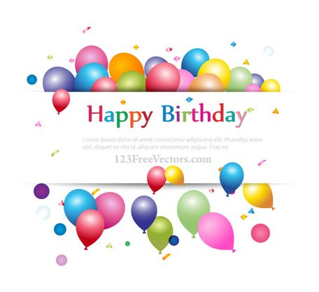 Banner clipart happy birthday. Free and vector graphics