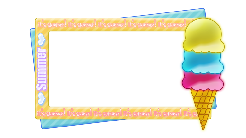 Ice cream transparent png. Clipart rocket border