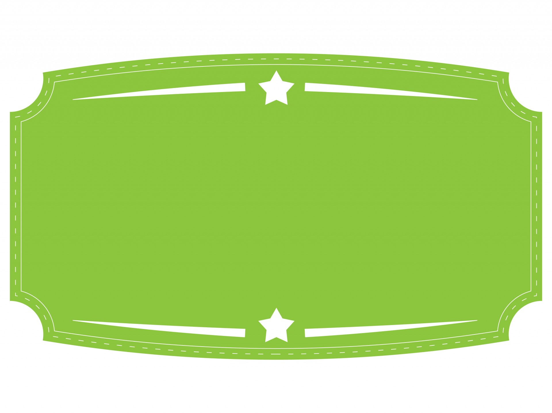 Green badge free stock. Banner clipart label