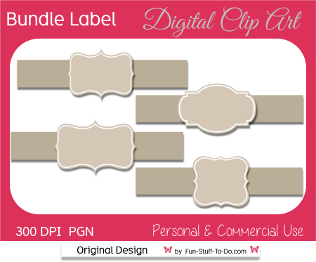 Frame clip art. Banners clipart label