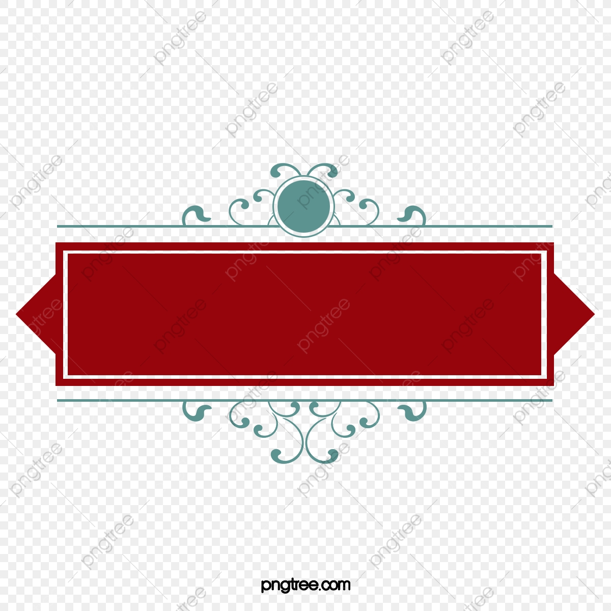 Banners clipart label. Red banner tag ribbon