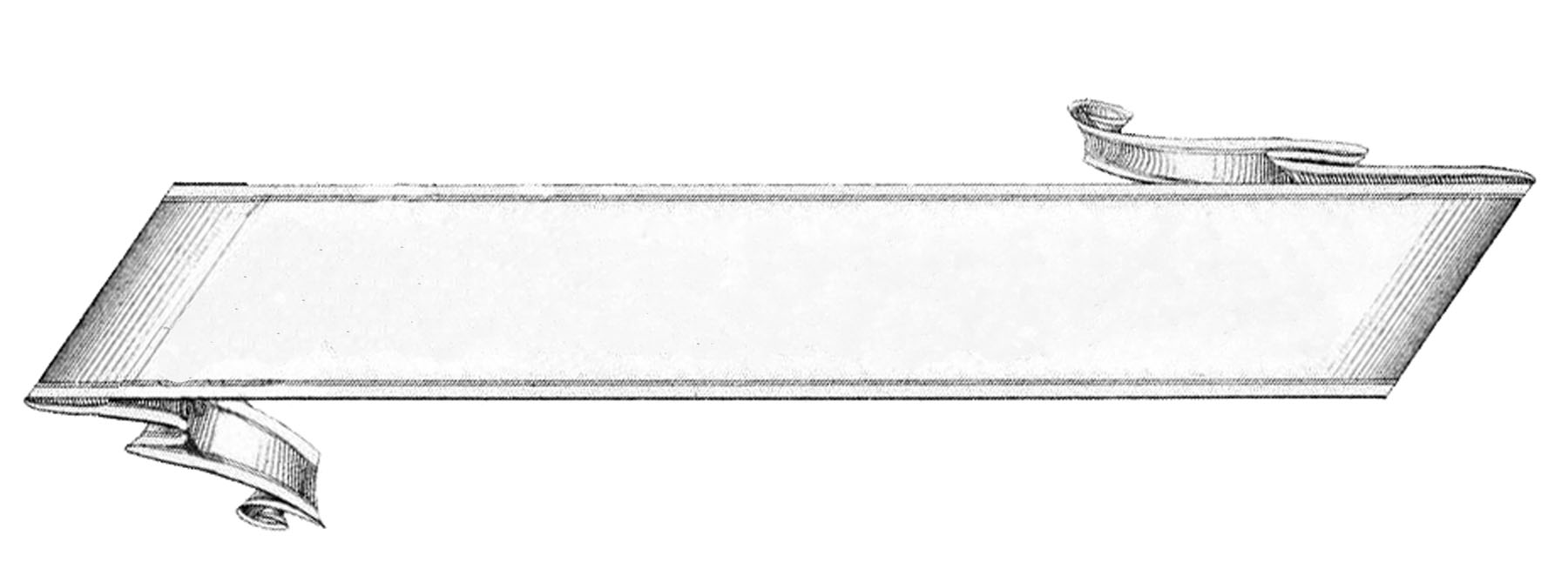 blank ribbons the. Banner clipart label