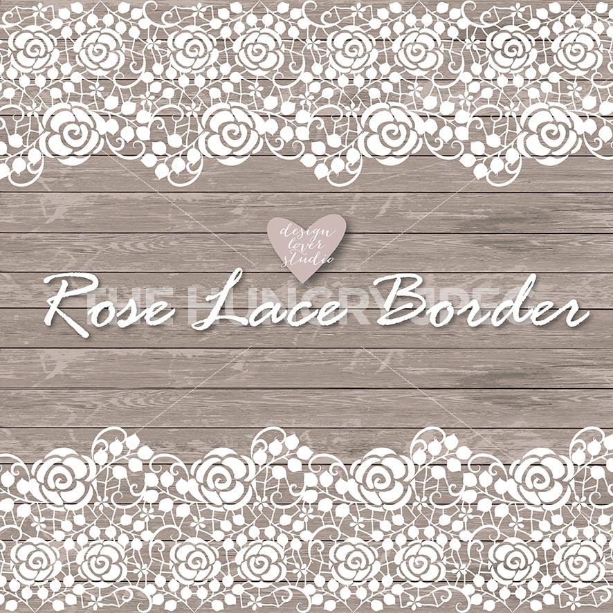 Banner clipart lace. Border rustic wedding invitation