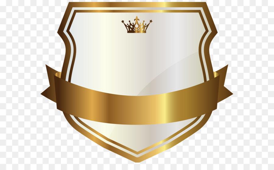 Label gold clip art. Banner clipart logo
