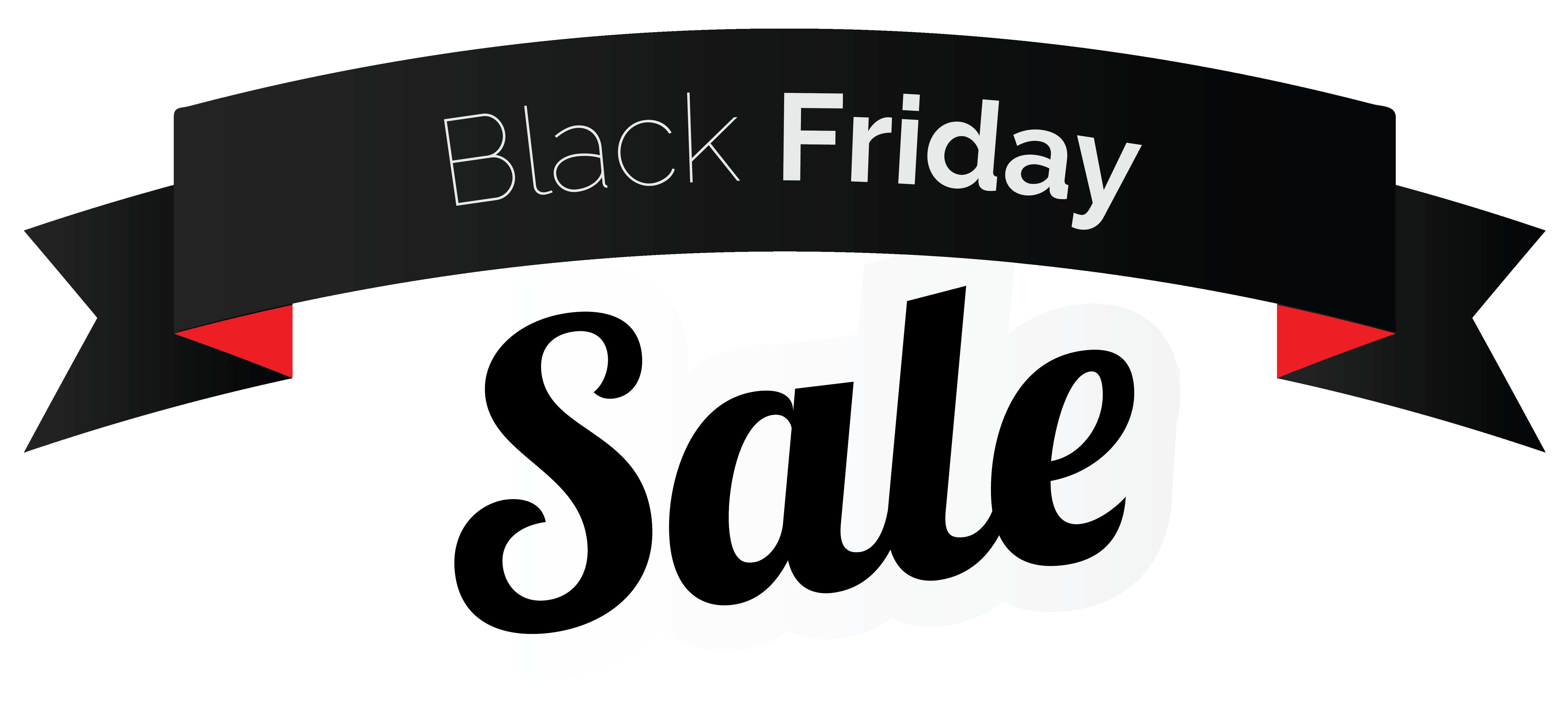 Banner clipart logo. Black friday sale png