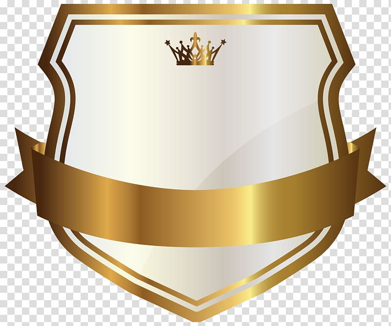 Label gold white with. Banner clipart logo