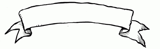 Clip art panda free. Banner clipart scroll