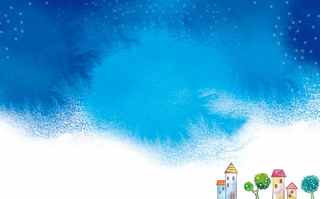 Background blue png image. Banner clipart sky