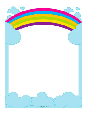 This border includes a. Banner clipart sky