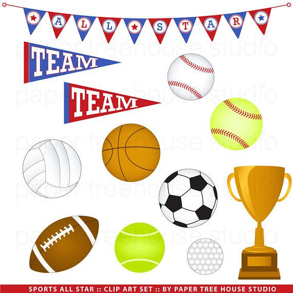 Sport clip art team. Basketball clipart banner