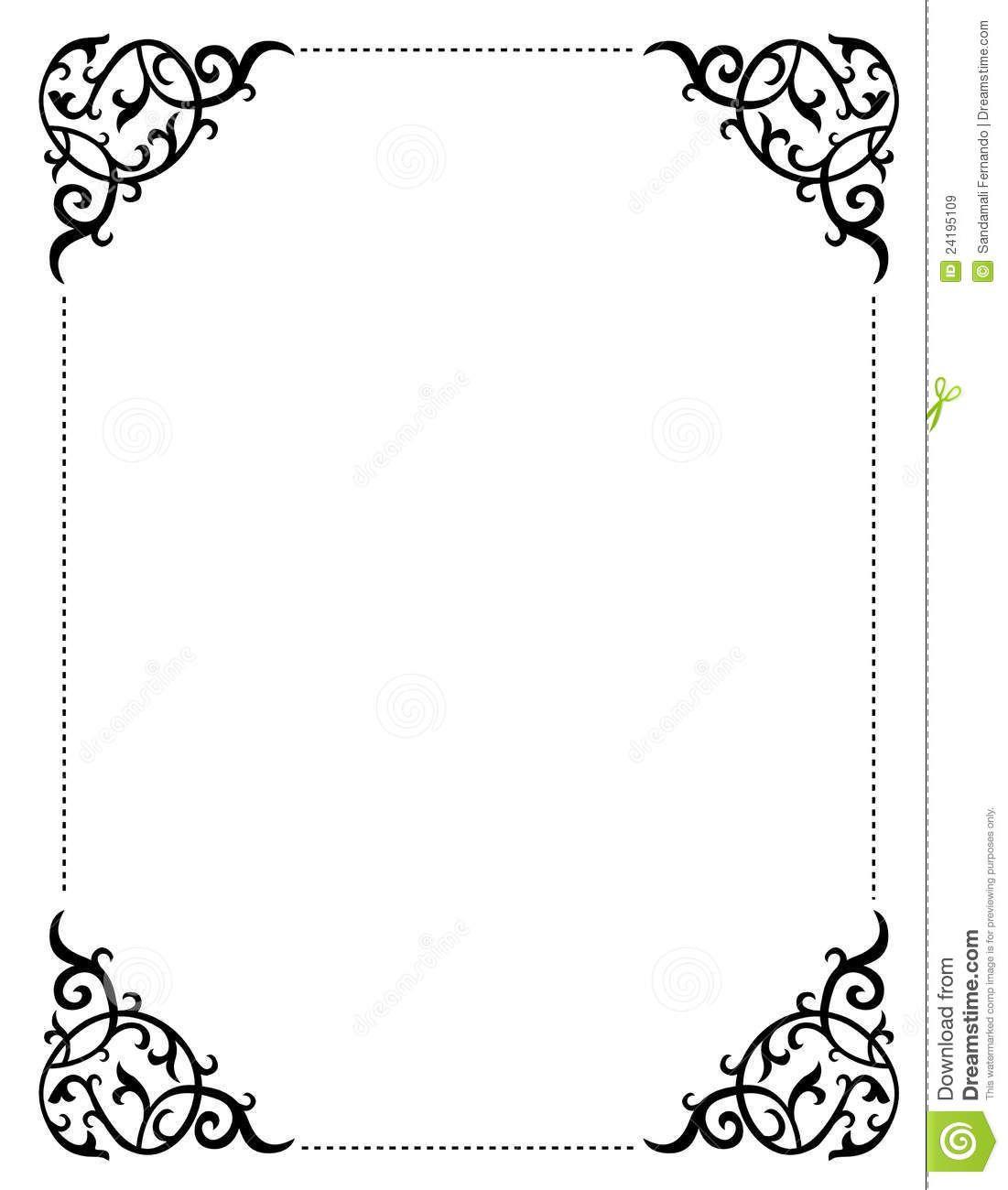 Free printable clip art. Boarder clipart wedding
