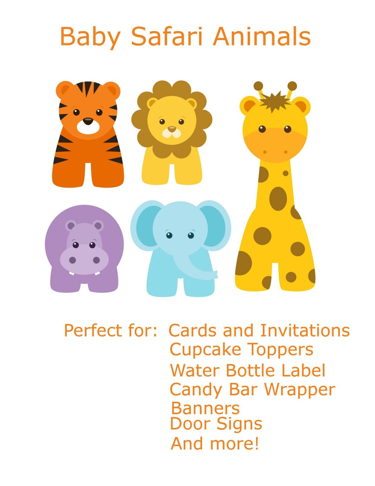 Free baby clip art. Banners clipart animal