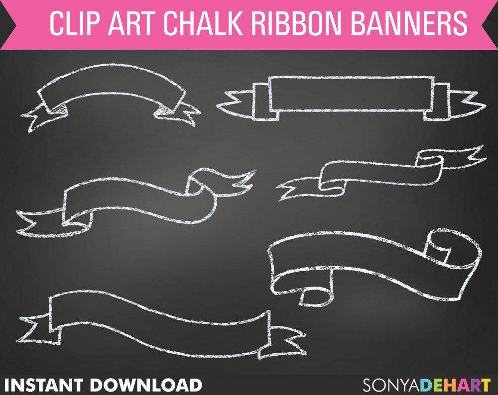 Banner scrapheap challenge com. Banners clipart chalkboard