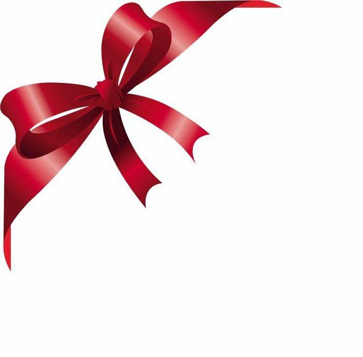 best ribbon images. Bows clipart corner