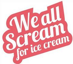 Free social we all. Banners clipart ice cream