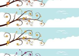 Free and vector graphics. Banners clipart sky