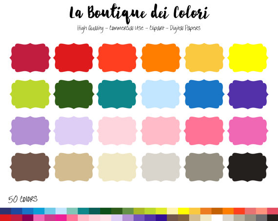Banner clipart solid.  rainbow color swirl