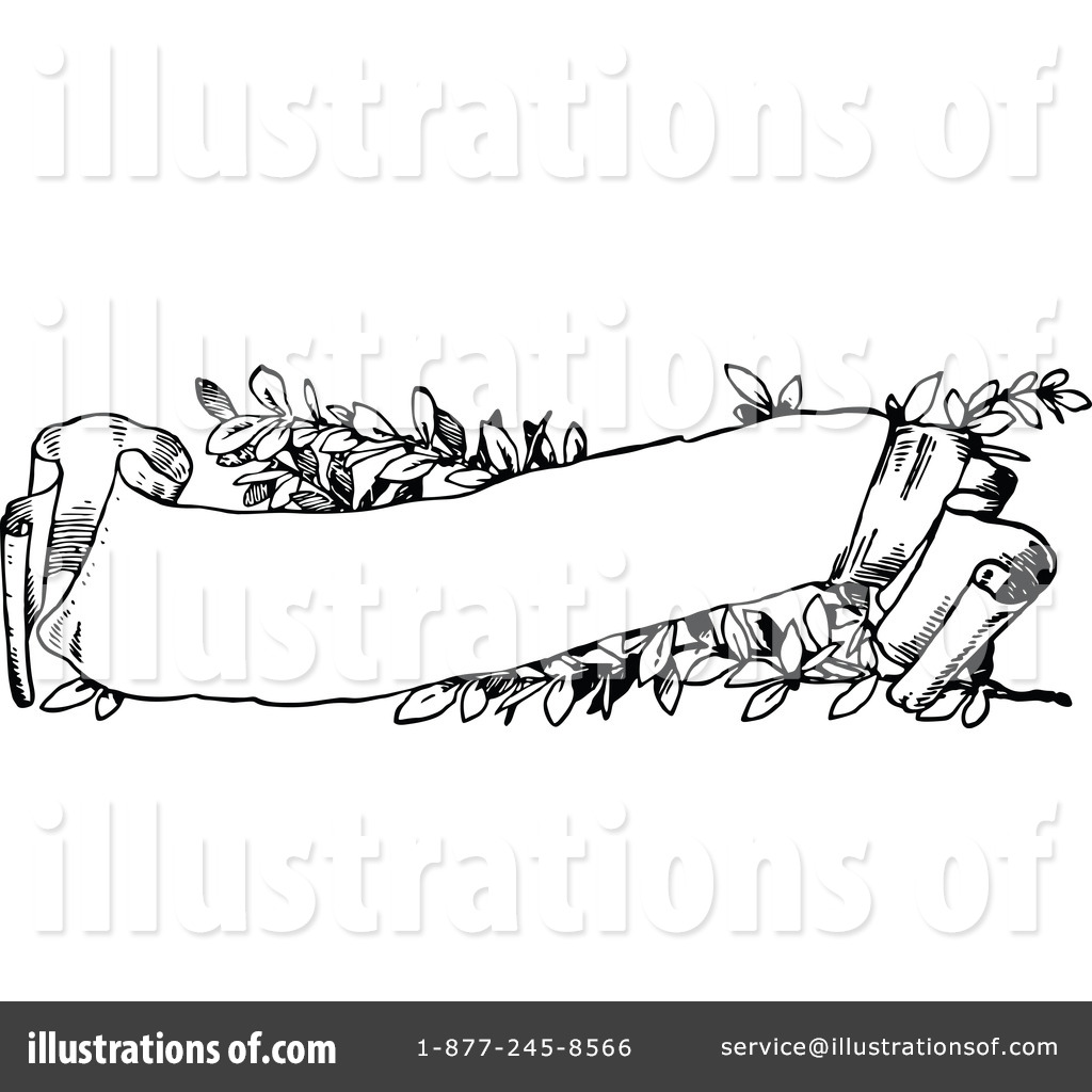 Banner illustration by prawny. Banners clipart vintage