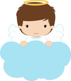 Baptism clipart. Angels boys digital angel