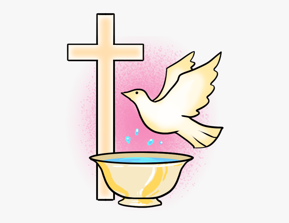 Symbols baptism free . Faith clipart christening church