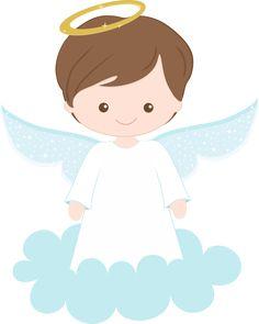 Baptism clipart angel. Angels boys digital boy