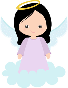 Baby girl free images. Baptism clipart animated
