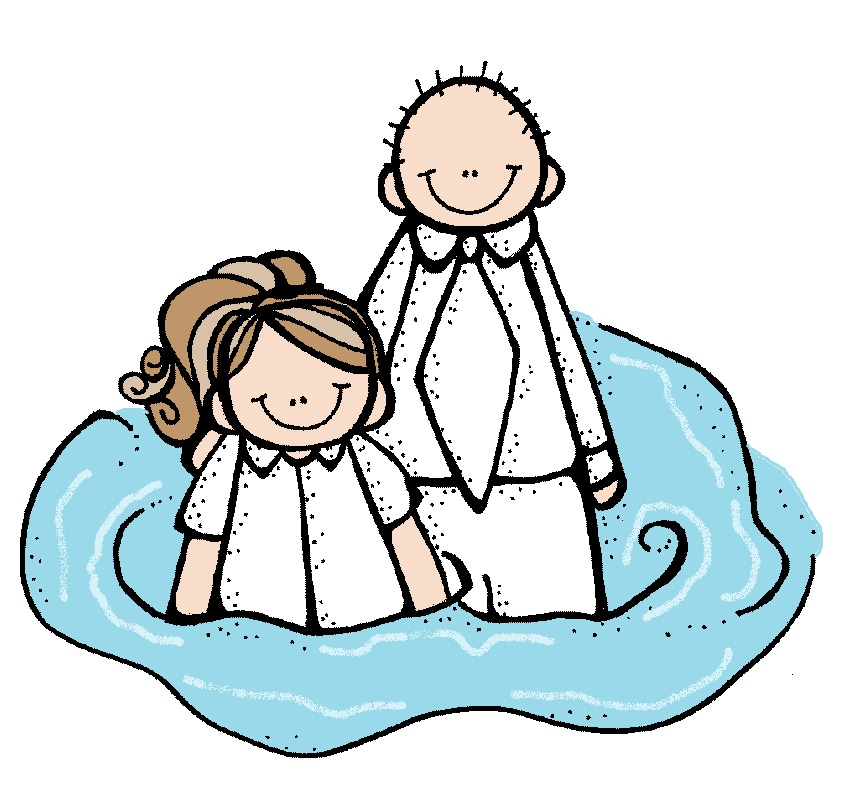 Free lds clip art. Baptism clipart animated
