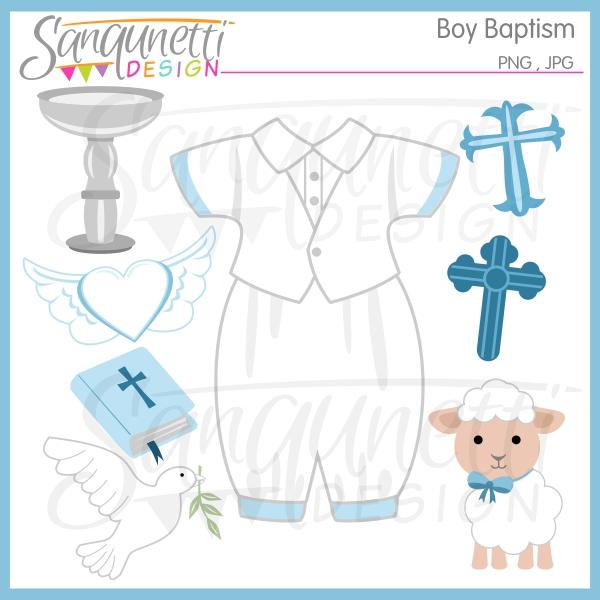 Boys clipart christening. Baptism boy