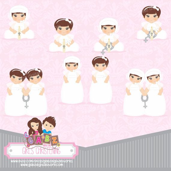 Baptism clipart baby girl.  best angels and