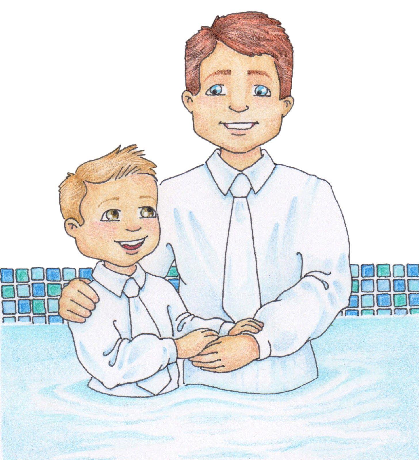 Lds clipart illustration. Susan fitch design baptism