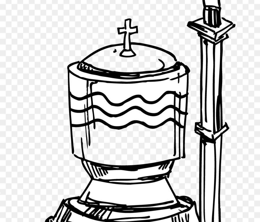 Pretentious alluring the sacrament. Baptism clipart baptismal font