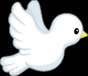 Angel boys minus bautismo. Birds clipart baptism