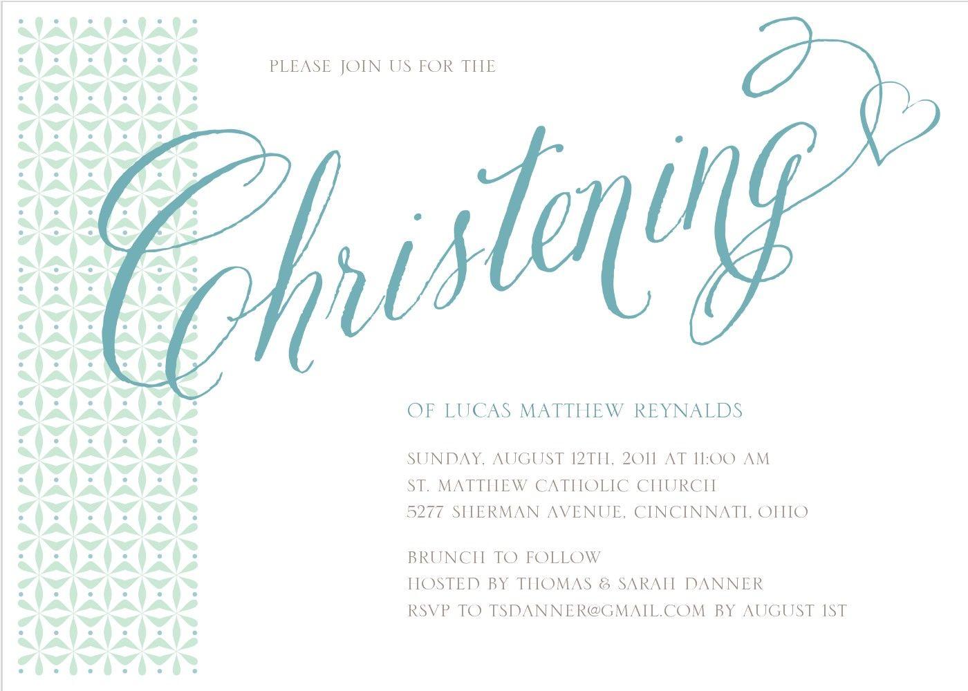 This christening invitation template. Baptism clipart border
