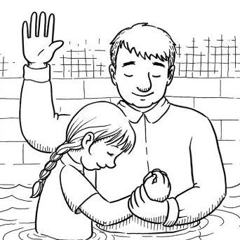 Baptism clipart cartoon. Station