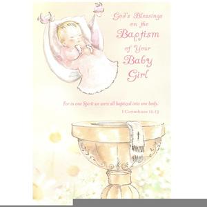 Baptism clipart catholic baptism. Free images at clker