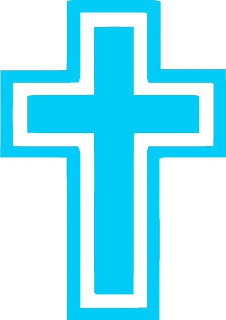 baptism clipart cross