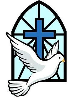 baptism clipart dove
