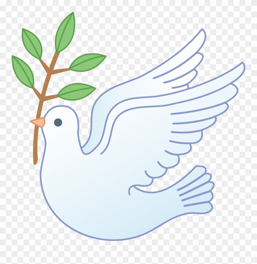 Peace clipart baptism. Dove with olive branch