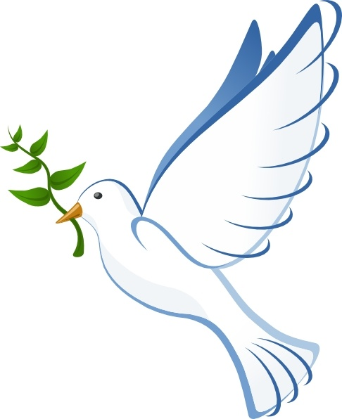 Cliparts google images doves. Baptism clipart dove