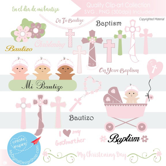Baptism clipart easter. On sale my christening