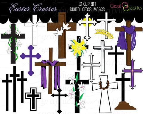 Great graphics designs cross. Baptism clipart easter