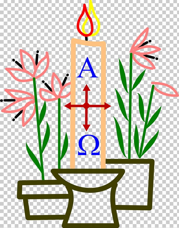 Baptism clipart easter. Paschal candle birthday cake