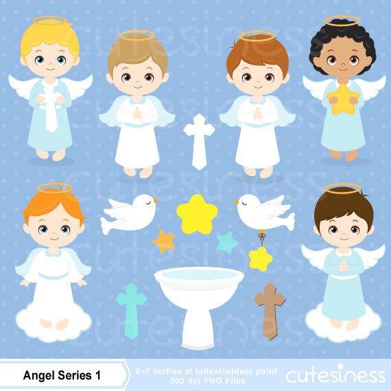 Angel digital clip art. Angels clipart baptism
