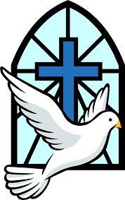 Catholic clipart cute. Holy spirit dove clip
