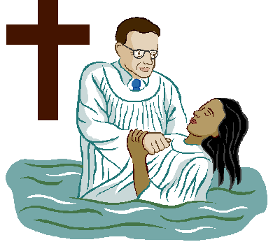 Is robert mcauthor ministries. Baptism clipart immersion