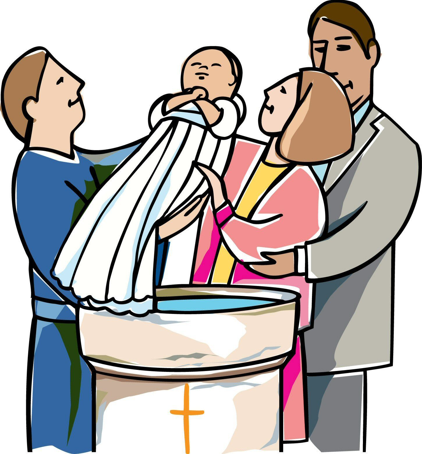 Baptism clipart priest. Free cliparts download clip