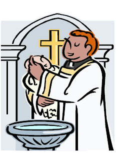Free cliparts download clip. Baptism clipart priest