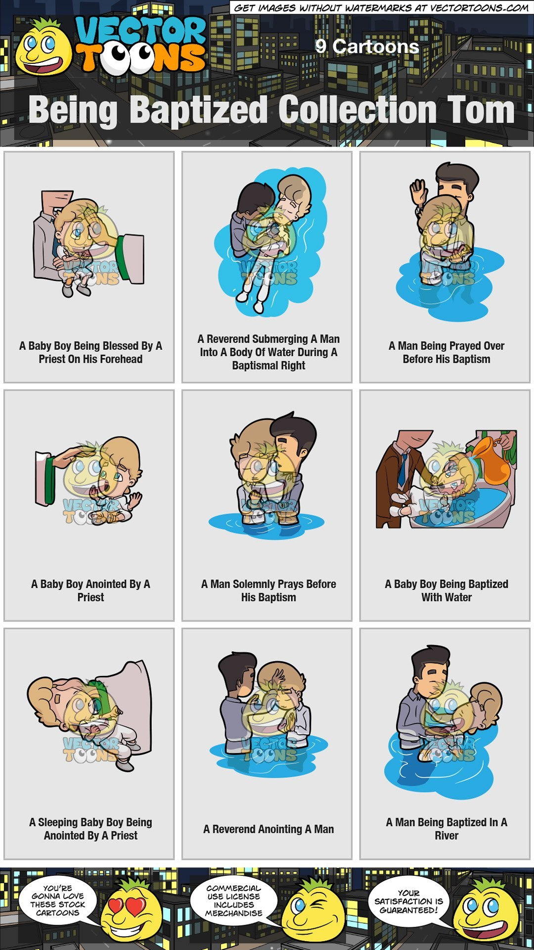 Baptism clipart river. Being baptized collection tom