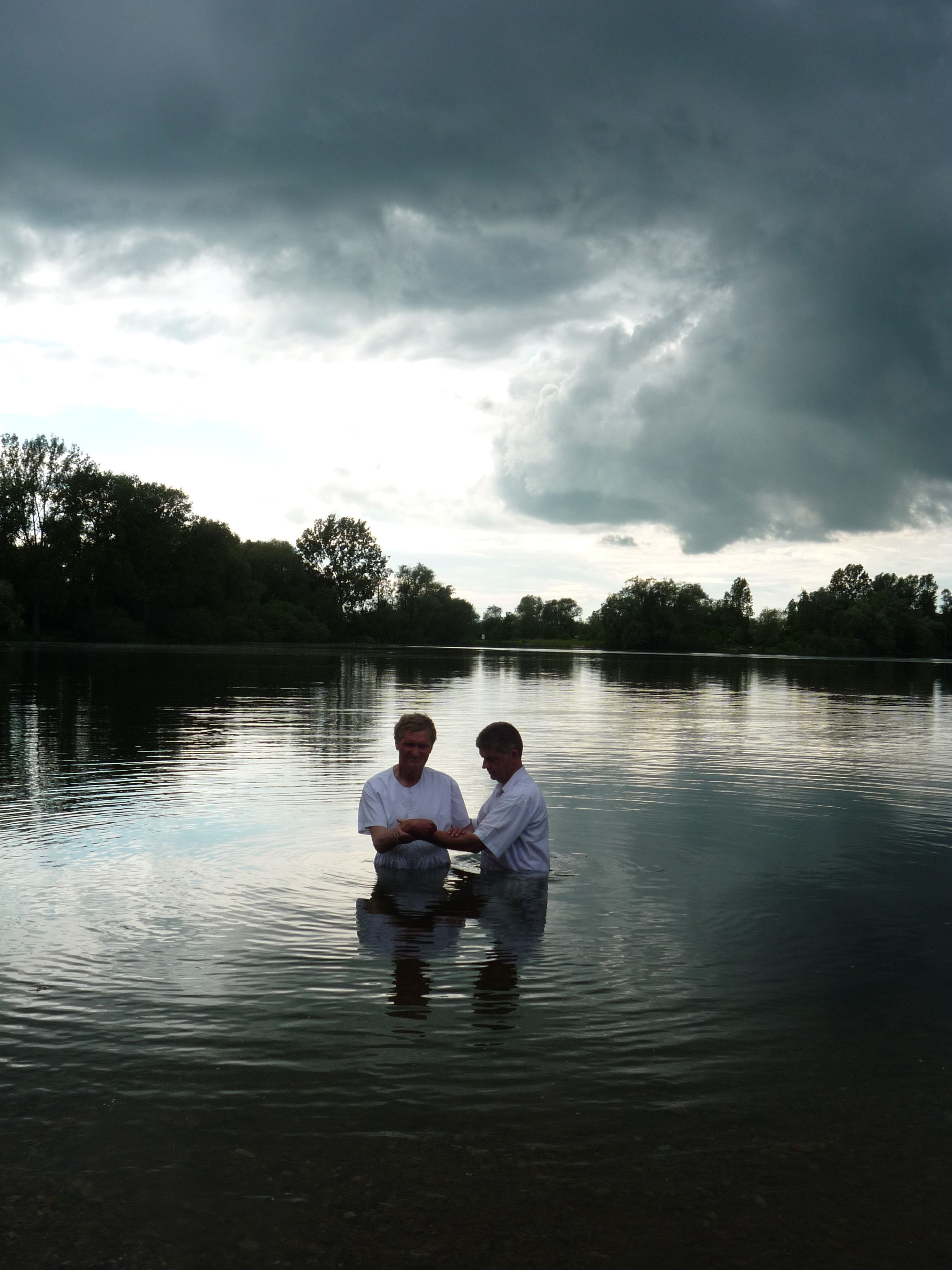 Mormon share. Baptism clipart river