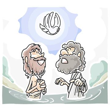 Christian clip arts net. Baptism clipart river
